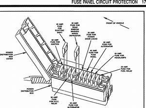1989 Ford Ranger Fuse Box Diagram