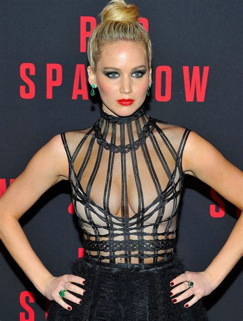 foto de Jennifer Lawrence Nip Slip Pictures from Red Sparrow