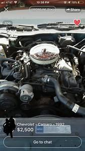 92 Camaro Rs 305 Tbi Stock Engine Bay