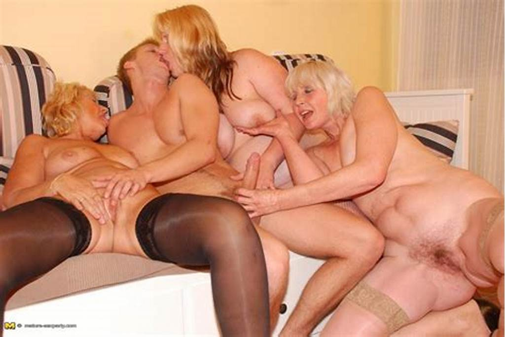#Lucky #Dude #Fucking #And #Cumshoting #Three #Blonde #Mature #Ladies
