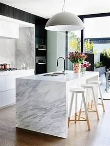 Plan De Travail Cuisine Marbre : inconv nients du marbre en cuisine tout ce qu 39 il faut savoir ~ Melissatoandfro.com Idées de Décoration