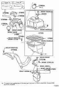 Toyota Camry Engine Air Intake Resonator  Used To Reduce