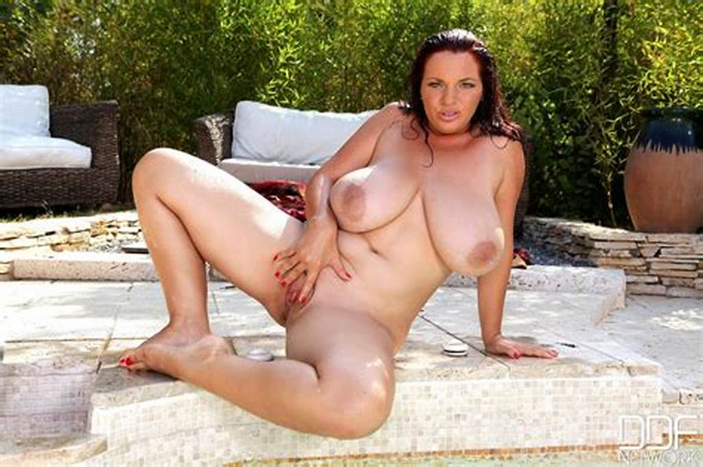 #Joanna #Bliss #Showing #Off #Her #Amazing #Huge #Boobs #Outdoor