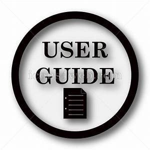 User Guide Simple Icon  User Guide Simple Button