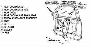 How To Remove And Replace A Window Regulator And Motor On