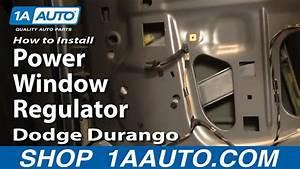How To Replace Window Regulator 04-09 Dodge Durango