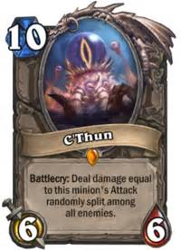 Design A Hearthstone Card C 39 Thun Hearthstone Heroes Of Warcraft Wiki