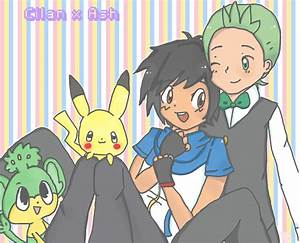 Pokemon Ash And Cilan Gay Images   Pokemon Images