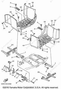 Yamaha Atv 2002 Oem Parts Diagram For Stand  Footrest
