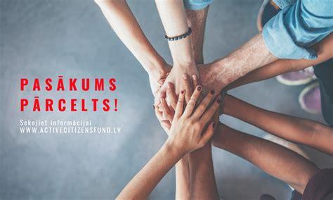 AIF - Piedalies Aktīvo iedzīvotāju fonda atklāšanas pasākumā!