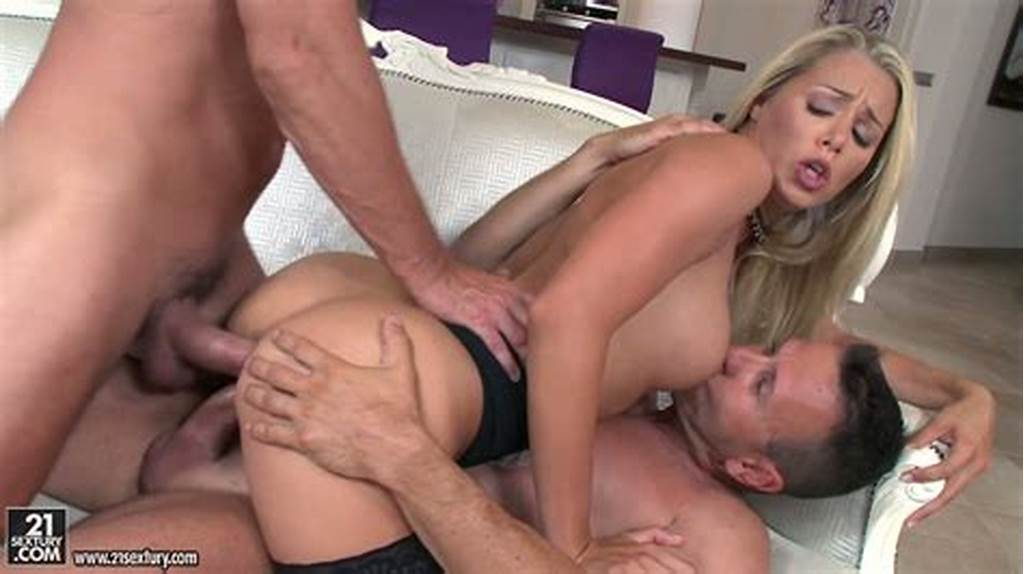 #Good #Old #Hardcore #Dp #Session #With #Sassy #Euro #Blond #Gal