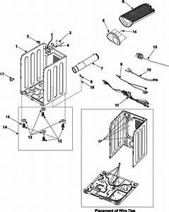 Samsung Dv3c6bgw  Xaa Dryer Parts