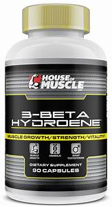 House Of Muscle 3-beta-hydroene - Muscle Building Supplement - 90 Capsules