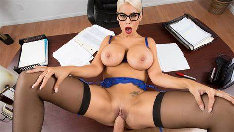 Carla Sinclair Fucking A Deep Pounded On The Desk