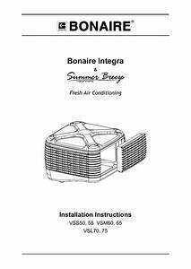 Bonaire Vss50 Unit Installation
