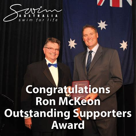 Ronald john mckeon is a former competition swimmer who represented australia in the 1980 summer olympics and 1984 summer olympics. Pin by Swim Australia on Swim Australia Awards Dinner 2014 ...