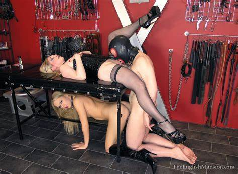 Comely English Slaves On Her Bed