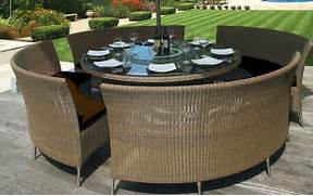 12 Circular Patio Furniture Modern Outdoor Patio Furniture