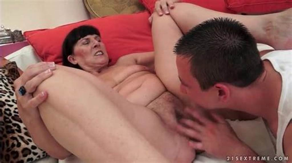 #Young #Man #Eats #Out #Wet #Granny #Pussy