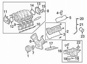 2005 Land Rover Lr3 Gasket  Manifold  Intake   Upper
