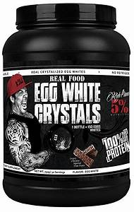 Rich Piana 5  Nutrition Real Food Egg White Crystals  Chocolate Flavor