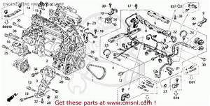 1994 Honda Accord Wiring Schematic : honda accord 1994 r 2dr dx abs ka engine wire harness ~ A.2002-acura-tl-radio.info Haus und Dekorationen