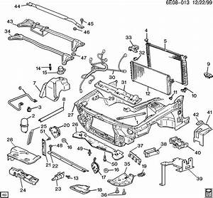 1990 Chevrolet Lumina Sheet Metal  Front End Part 3