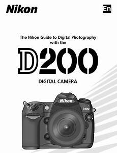 Nikon D200 Manual  Camera Owner User Guide And Instructions