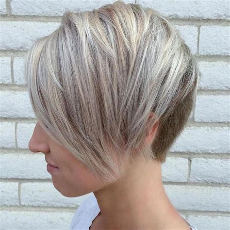 Voluminous pixie with fine layers women with wispy straight strands easily pull off this layered pixie cut for thin hair. 100 Mind-Blowing Short Hairstyles for Fine Hair # ...