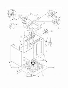 Frigidaire Fex831fs4 Laundry Center Parts