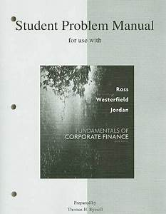 Student Problem Manual To Accompany Fundamentals Of By