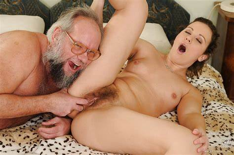 Older Woman Cornelia Fingered