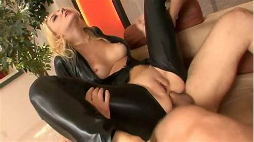 Xozilla Double Booty Threesome Penetration #Exciting #Hot #Blonde #In #Latex #Bodysuit #Is #Pleasuring #Double