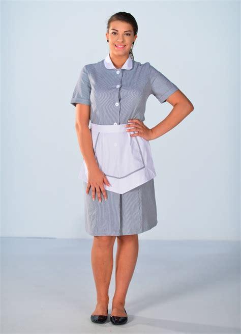 femmes de chambre blouse femme de chambre à manches courtes grise carlton