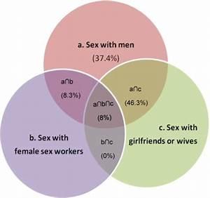 Venn Diagram Illustrating The Overlap Of Sexual Relatio