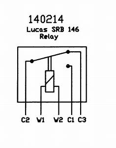 Lucas Srb146  6ra 12v Change Over Relay