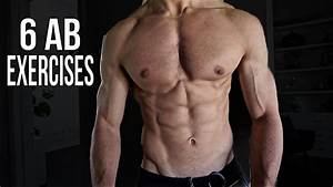 6 Ab Exercises For Six Pack Abs At Home 2016  Men  U0026 Women
