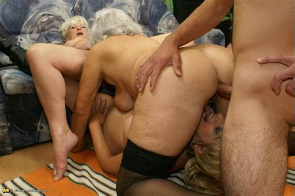 #Three #Mature #Sluts #And #One #Pussyhungry #Cock