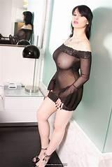 Sheer naked big boobs