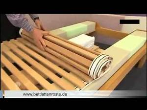 Lattenrost Und Matratze : bett lattenrost richtig einstellen auf matratzen h rtegrad youtube ~ A.2002-acura-tl-radio.info Haus und Dekorationen