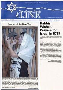 Rabbis U2019 Wishes  Prayers For 5767  U2013 Malka Drucker