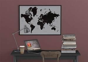 Affiche Carte Du Monde : carte du monde contemporain poster affiche acheter le ~ Dailycaller-alerts.com Idées de Décoration