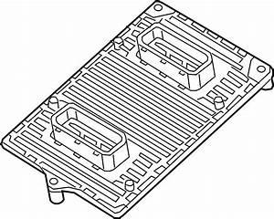 Dodge Dart Engine Control Module  Dart  2 0l  W  O Turbo  2