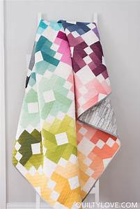 ombre gems paper quilt pattern quilty