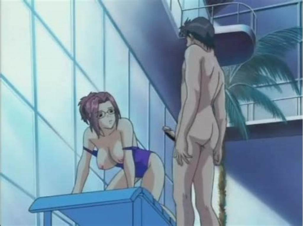 #Anime #Girl #In #Swimsuit #Fucked #Hard #In #The #Pool