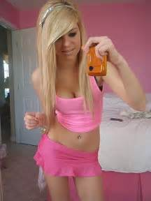 Org hot blonde teen
