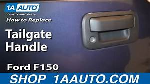 How To Install Replace Fix Broken Tailgate Handle 2004-13 Ford F150