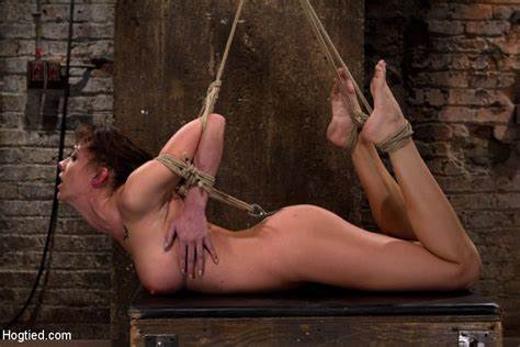 Tied Up Desi Slave Being