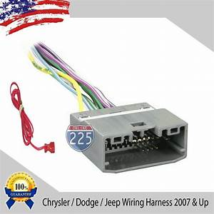 Car Stereo Cd Player Wiring Harness Factory Radio Chrysler