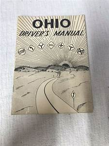 Vintage Ohio Drivers Manual Rules 1953 Study Guide